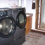 Basement bathroom & laundry