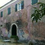Ontbijten in het oude verblijf van de italiaanse politie
