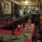 private function room for the holiday reps christmas dinner