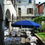 der Garten des Citadella zu Mittag