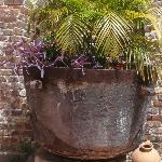 Tar Cauldron Plant Pot