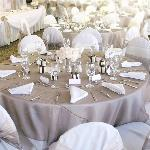 Wedding Reception in the Banquet Room