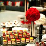 Beautiful deserts prepared by our Chef