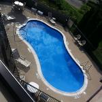 view of the pool from 3rd floor