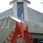 Calder stabile in front of the Westin