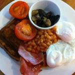 Mange Tout healthy breakfast