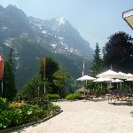 View of the Eiger from the patio