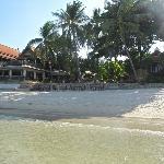 The beautiful resort