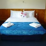 Queen size bed in all standard units