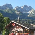View of Gstaad area