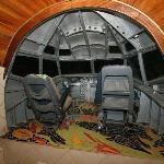 the cockpit/bathroom!