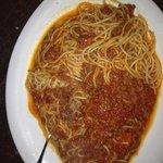Fellini Cafe, spaghetti bolognese