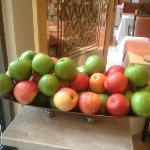 Fresh and crunchy apples