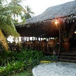 The resort compound