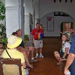 Claudia, at every opportunity, schooled us about the local history. Our small group loved her!
