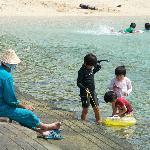 なーま浜(右手堤防より)