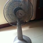 "A ""Fan"" That Blows Air @ Seng Hout Hotel"