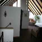 the entrance of our suite