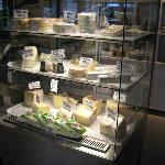 Cheese counter have many excellent choices