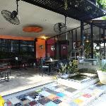 Entrance of Cafe de Nimman