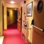 pasillos hotel