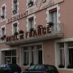 Hôtel de France côté rue