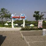 salah satu arena permainan di kampung gajah, lembang
