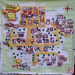 peta arena bermain di rumah sosis, lembang