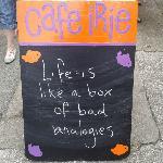 Life is like a box of bad analogies...