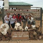 e così cominciò il nostro safari con TOny manero..