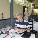 Studying the menu