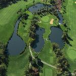 Aerial View of 12th, 13th and 14th Holes