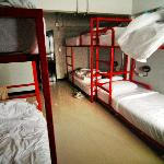 Inside Dorm ( 6 bunk )
