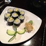 Avacado Sushi at Ohana Restaurant, Ogden, UT