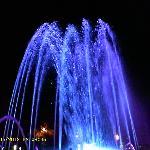 Fountain show near the beach