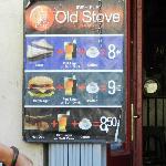 Il menu ed i prezzi