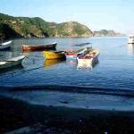 Lanchas en Taganga