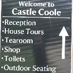 Different views of Castle Coole and grounds.