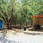 Washer & Dryer and charging station-bathrooms
