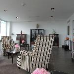 Lounge dans le Ono Spa au 10e étage