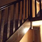 ロフトへの階段