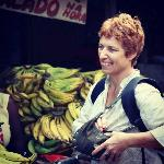 The beautiful Host- Nathalie- She took us to the local markets with her!