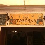 La Taberna restaurant - exterior