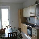 cucina dell'appartamento Kitchen of this apartament
