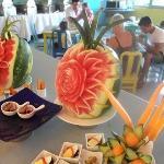 wonderful food displays