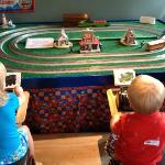 Our kids controlling Thomas & friends