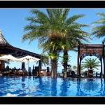Resaurant de la piscine et de la plage
