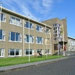 Main hotel building - former school
