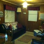 Living area Cabin 3