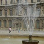 Fountain at the Louvre